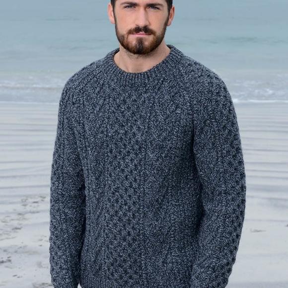 79871e3855fced Aran Sweater Market Other - Aran Sweater market hand knit Men s sweater XL